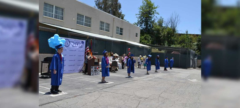 Commencement Exercises Held at Merdinian School Despite COVID-19 Pandemic