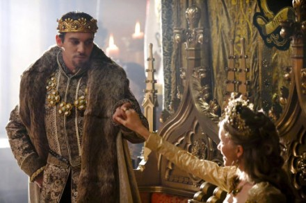 King Henry smitten with Catherine Howard.