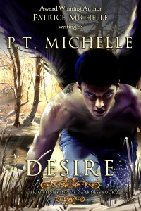 Desire (Brightest Kind of Darkness #4) by P.T. Michelle Cover Reveal+Excerpt!!!