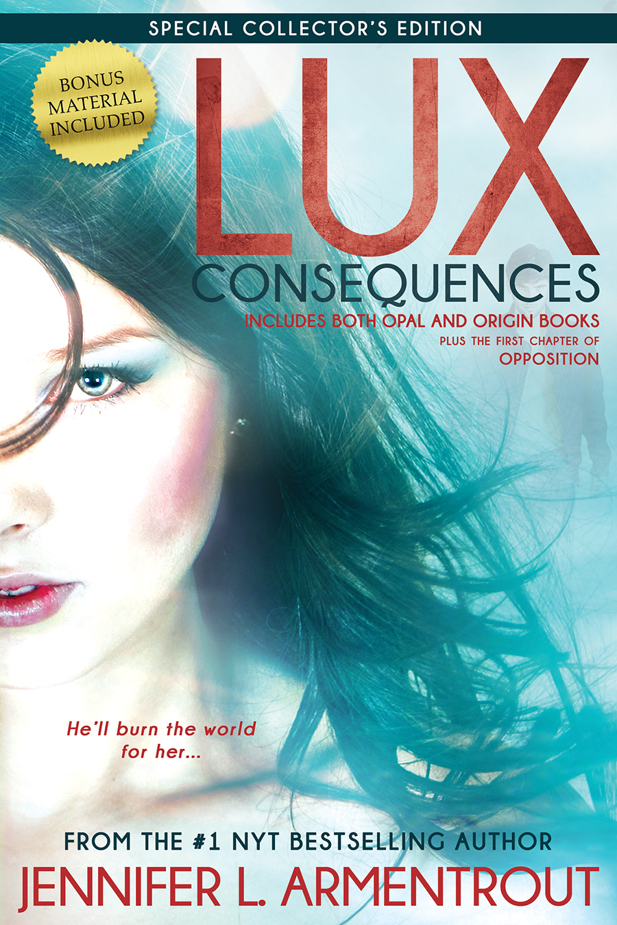 LUX: Consequences by @JLArmentrout COVER REVEAL, Giveaway & Poll!