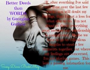 Better deeds than words teaser
