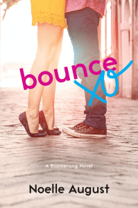 Blog Tour: Bounce by Noelle August + Giveaway