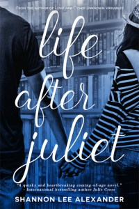 Cover Reveal: Life After Juliet by Shannon Lee Alexander