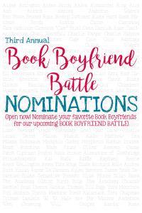 2016 Book Boyfriend Battle Nominations are now OPEN.