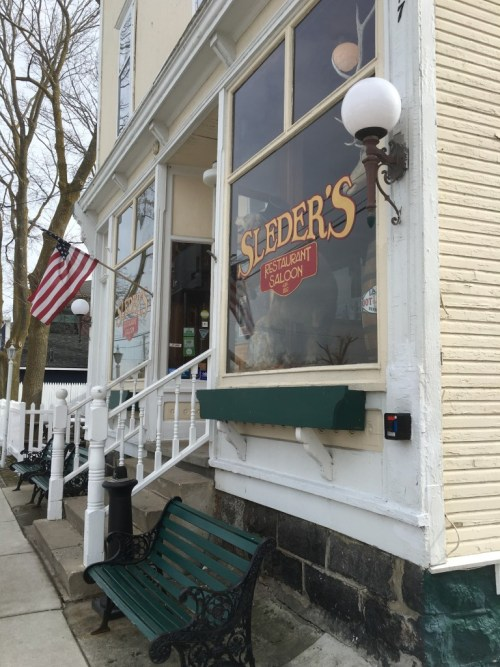 """Sleder's Family Tavern This is where Skylar and Sebastian go on their first """"date"""" and get burgers. :)"""