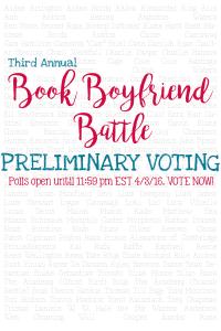 Book Boyfriend Battle 2016 – Premliminary Voting