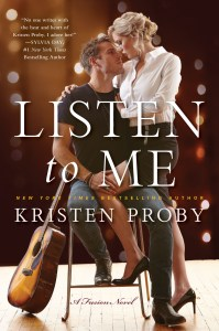 Book Tour: Listen to Me by Kristen Proby