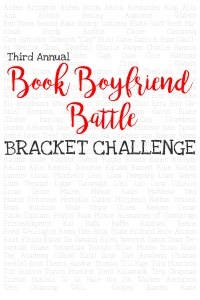 Book Boyfriend Battle 2016 BRACKET CHALLENGE!