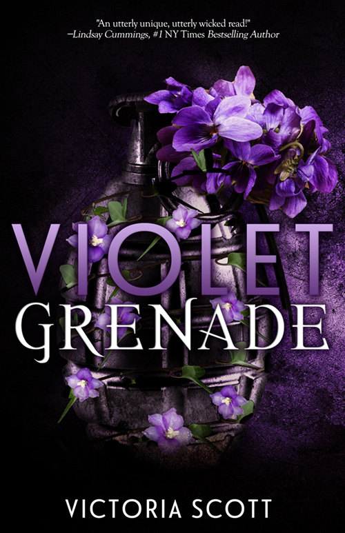 Cover Reveal & Countdown Timer: Violet Grenade by Victoria Scott
