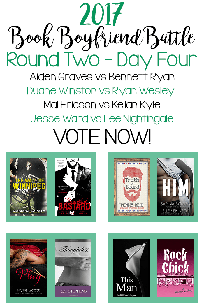 Book Boyfriend Battle - Second Round - Day Four