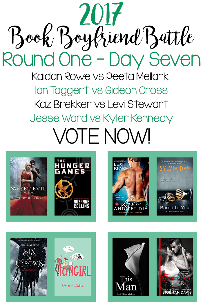 Book Boyfriend Battle – Round One – Day Seven