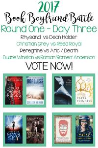 Book Boyfriend Battle – First Round – Day Three