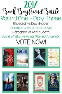 Book Boyfriend Battle – First Round – Day Three