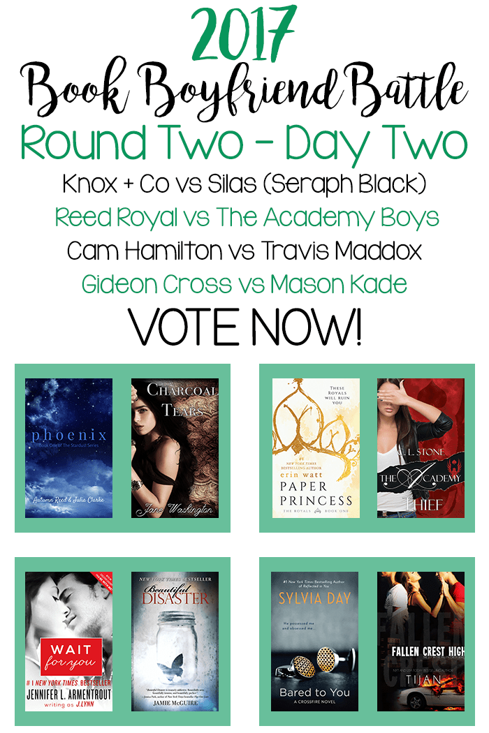 Book Boyfriend Battle – Second Round – Day Two
