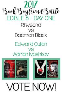 Book Boyfriend Battle – Edible 8 – Day One – VOTE NOW!