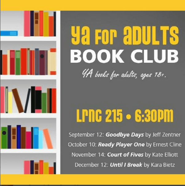 A New YA Book Club for ADULTS!
