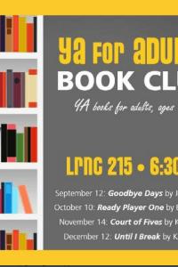 A New YA Book Club for ADULTS!