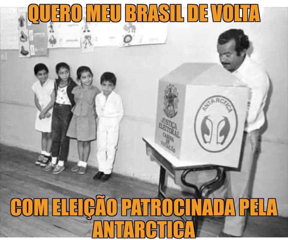Eleições 2018 – O Brasil que eu quero de volta