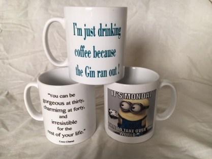 Man Cave Made Printed Mugs
