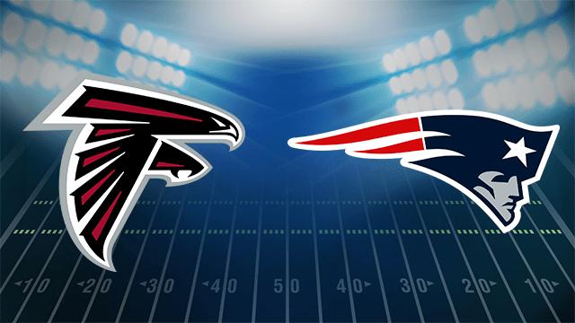 Image result for Atlanta Falcons vs. New England Patriots