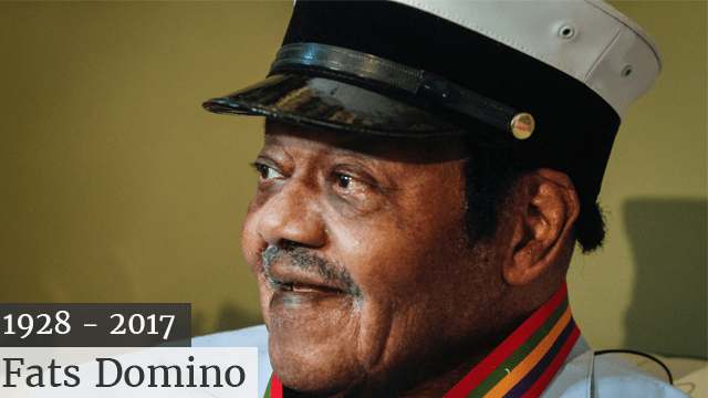 Image result for RIP: Fats Domino, rock 'n' roll pioneer has died at age 89