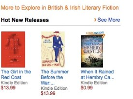 Hembry was named a Hot New Release by Amazon shortly after it was published.