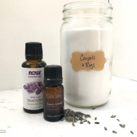 Carpet Deodorizer with Essential Oils