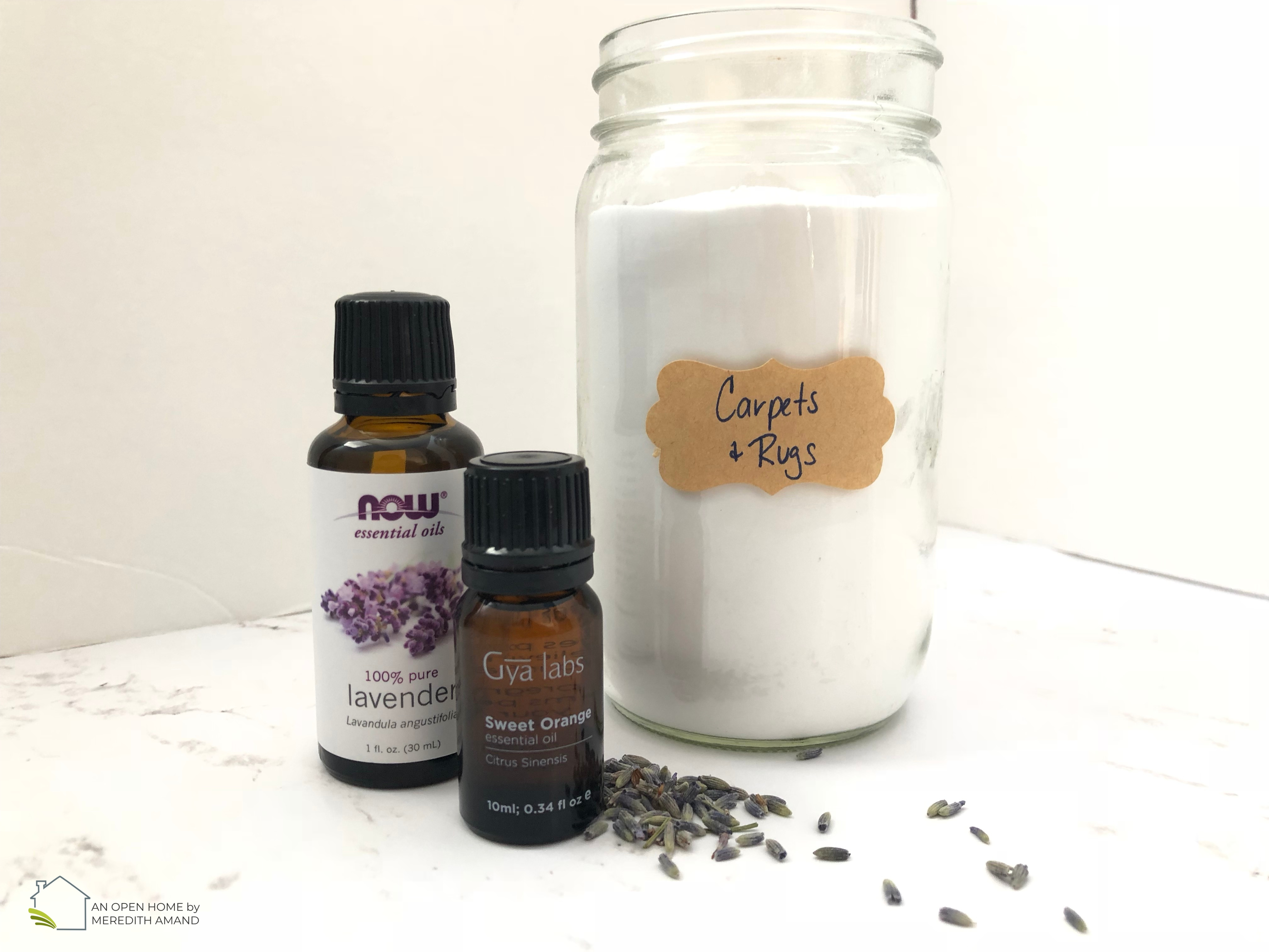 Carpet Deodorizer with Essential Oils