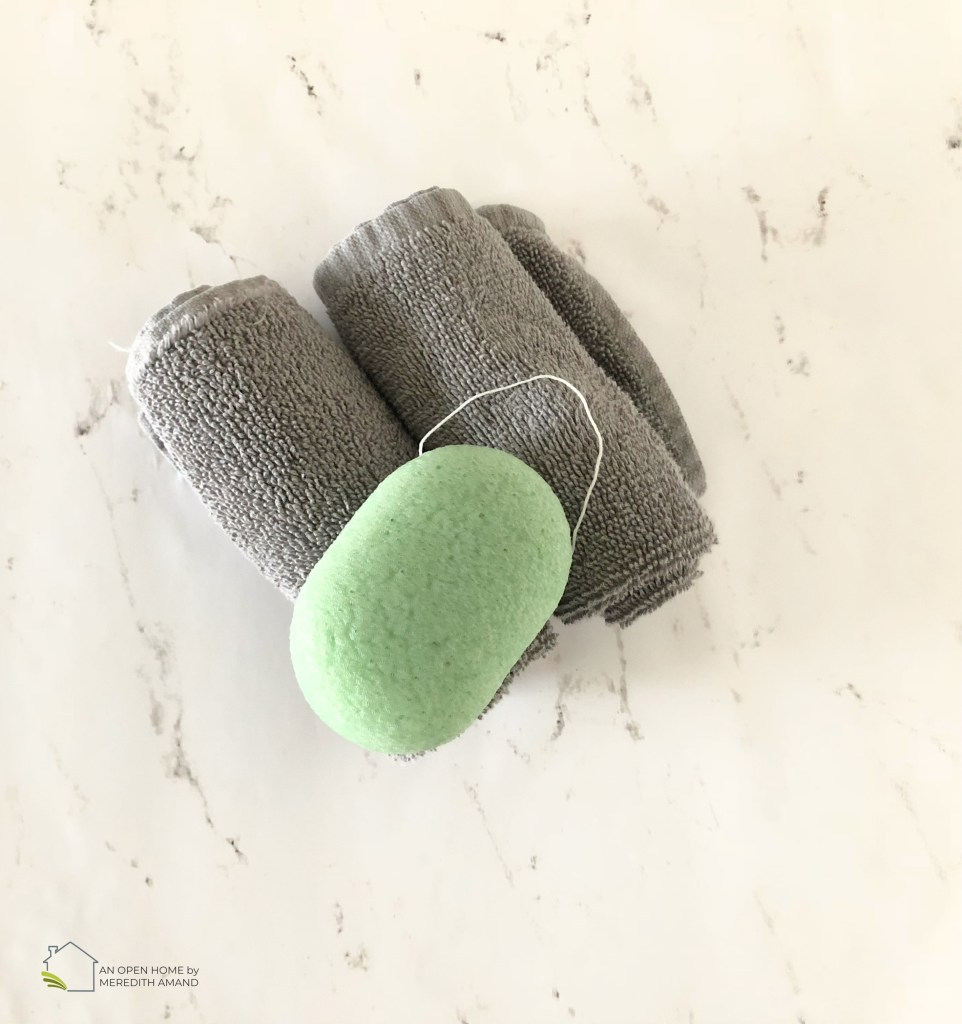 Why I Use a Konjac Sponge - A natural sponge to cleanse and soften your face every night | MeredithAmand.com