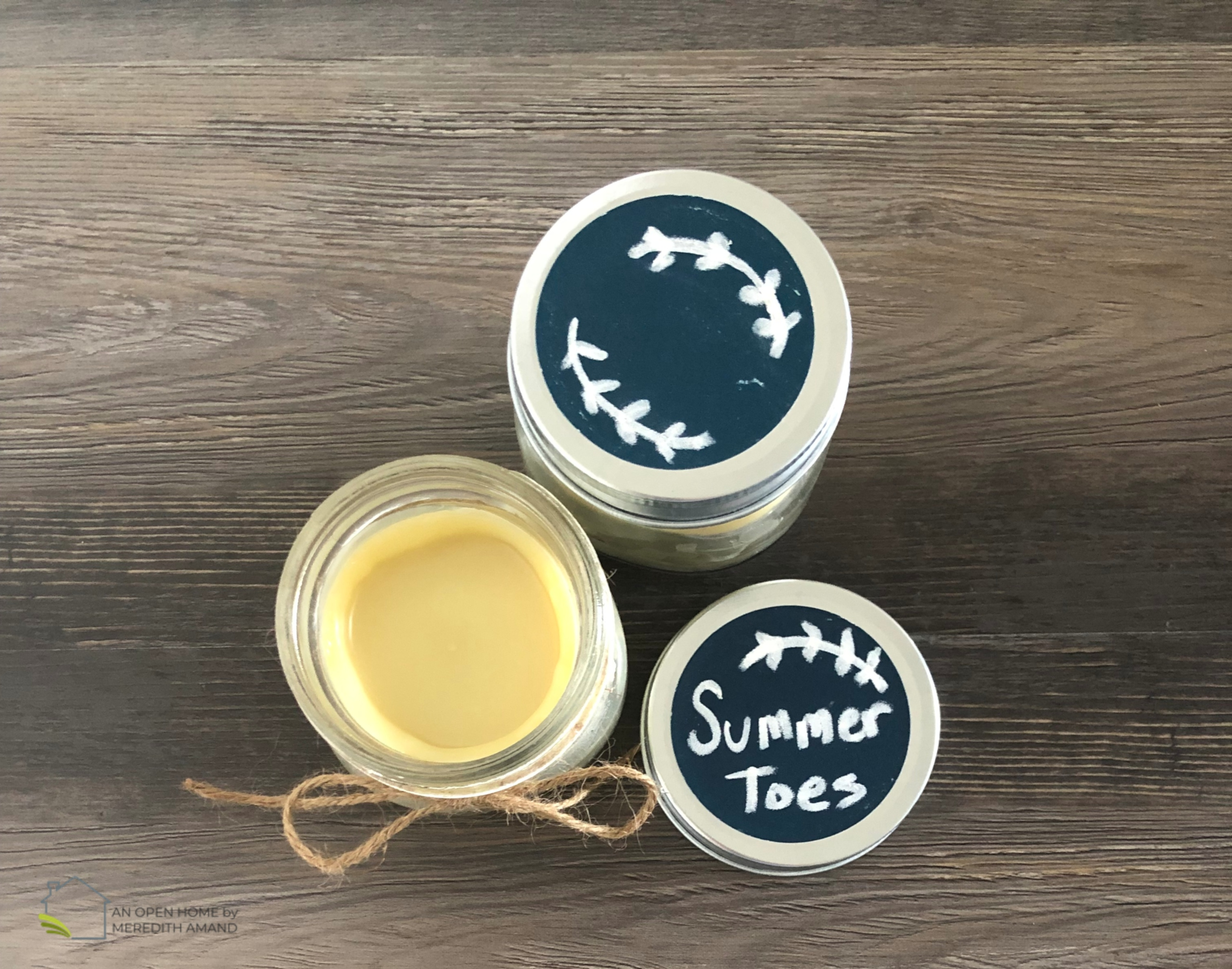 All-Natural Shea Butter Foot Balm
