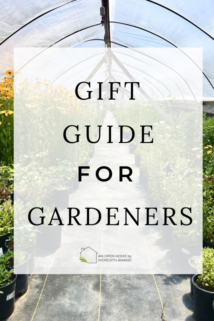 The Essential GIft Guide for Gardeners - All the tools and supplies your favorite gardener needs for the perfect harvest! | MeredithAmand.com