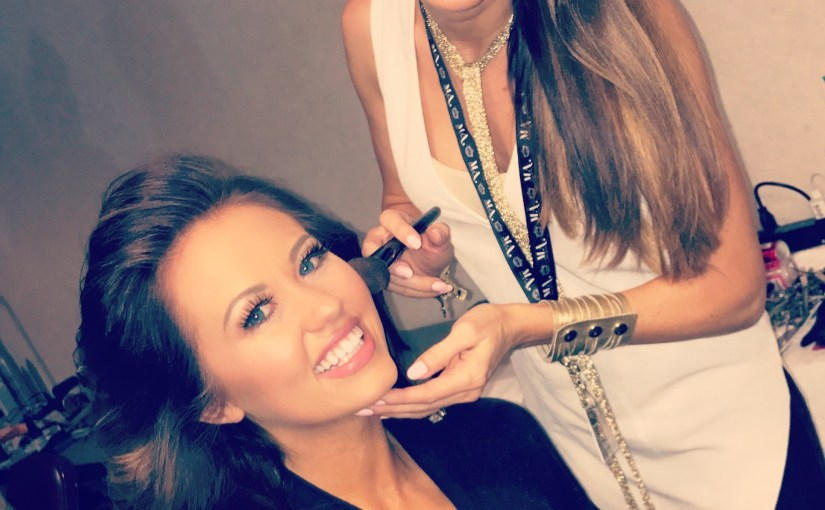 A day in the life of a makeup artist behind the pageant makeup chair