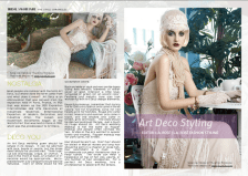 Editorial direction by Meredith Corning for Bridal Savoir Faire in collaboration with YolanCris.