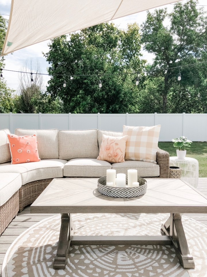 Backyard Patio Reveal