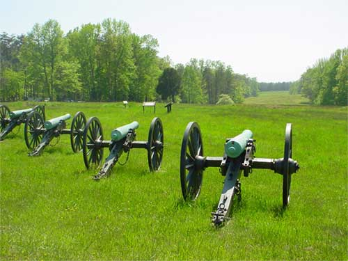Cannons at Fairview