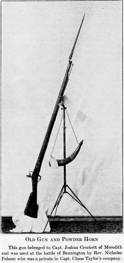 Battle of Bennington Musket