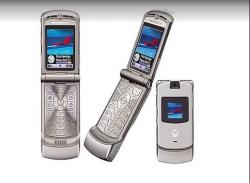 Hello Moto Motorola razr cell phone