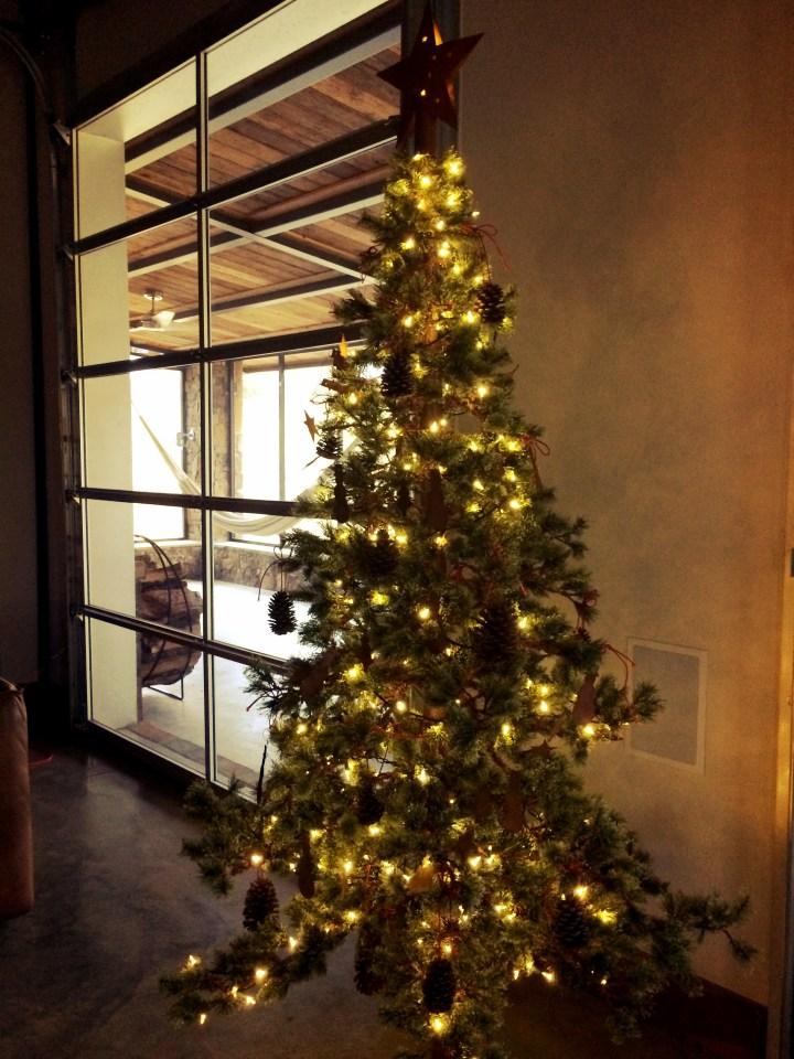 ranch christmas tree