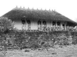 Ankober Palace, Emperor Menelik II's residence in nothern Shoa, Ethiopia