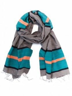 Meselu scarf from Ethiopia | LiveFashionable.com