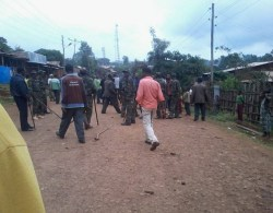 Soldiers attacked protesters, killing 8 students and injuring many in western Shoa towns