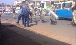 The town of Nekemte in western Ethiopia was invaded by Federal Police today