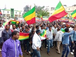 Massive protest underway in Gondar, Ethiopia – July 31, 2016