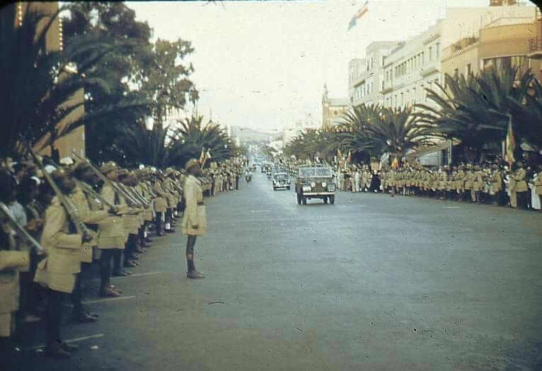 50 years ago when Emperor Haileselassie visited Asmara