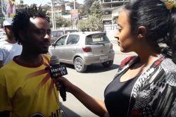 Addis Ababa youth celebrate Timket (Epiphany)