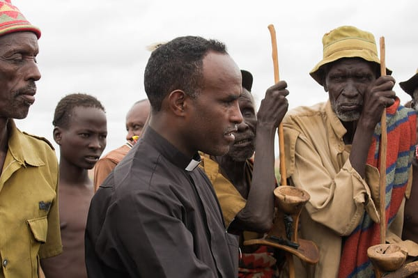 A film about Ethiopian priest nominated for best documentary at a film festival in Italy
