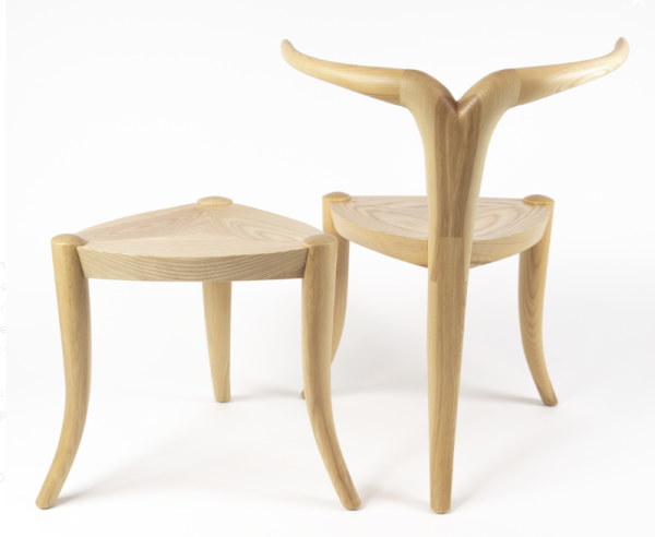 Ethiopian-influenced furniture made in the USA