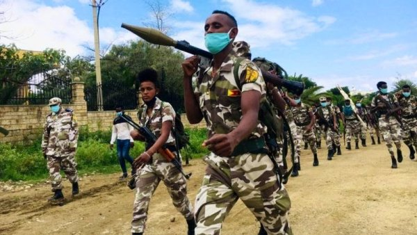 TPLF leaders say their forces attacked Asmara with missiles