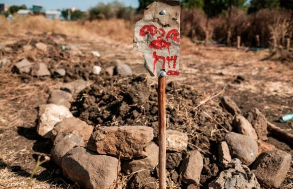 Another mass grave has been discovered in Mai Kadra Abun Aregawi Church where more than 1300 civilians were buried – gettyimages