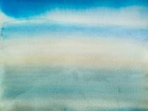 Sky #826   watercolor   9x12